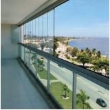 quanto custa fechamento de varanda com vidro temperado Vila Mariana