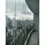 quero comprar cortina de vidro para apartamento Santo André