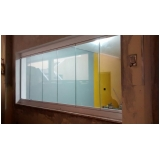 quero comprar cortina de vidro para janela Saúde