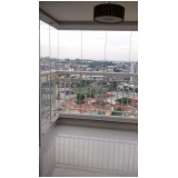 quero fazer sacada de vidro para apartamento Vila Mariana