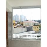 vidro para sacada de apartamento Campo Belo
