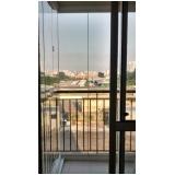 vidros para fechar sacada Vila Mariana