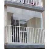 vidros para sacada de prédio Campo Belo
