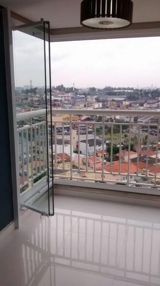 Vidro Articulado para Sacada Vila Olímpia - Vidro Blindex Sacada