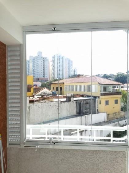 Vidro para Sacada de Apartamento Vila Olímpia - Vidro para Sacada de Prédio